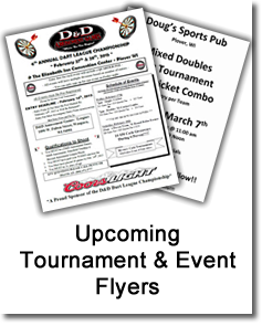 Tournament and Event Flyers